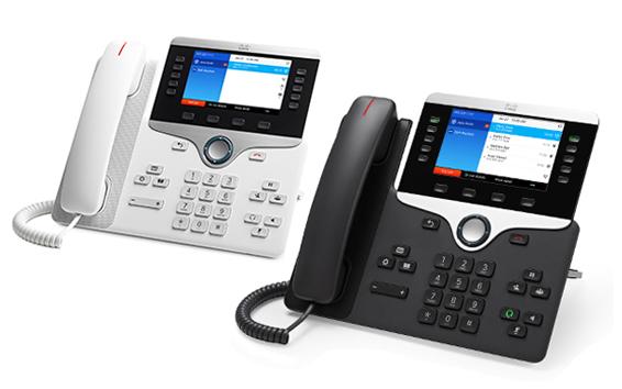 Voip-phones- white