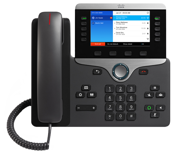 VoIP Phone System NUACOM Cisco 8851