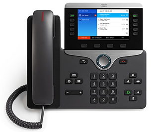 Business Phone System Modern Black