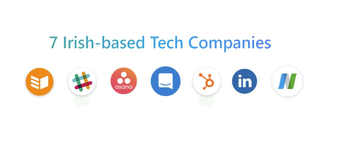 7 Irish-based Tech Companies
