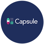 capsule CRM integration phone system
